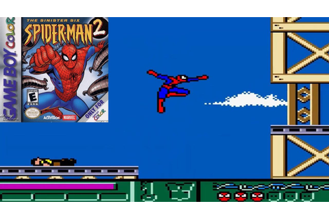 Spider-Man 2: The Sinister Six (GBC) - Longplay (Game Boy ...
