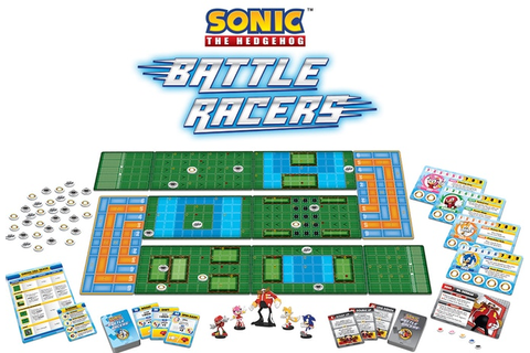 Battle Racers, board game de Sonic The Hedgehog é ...