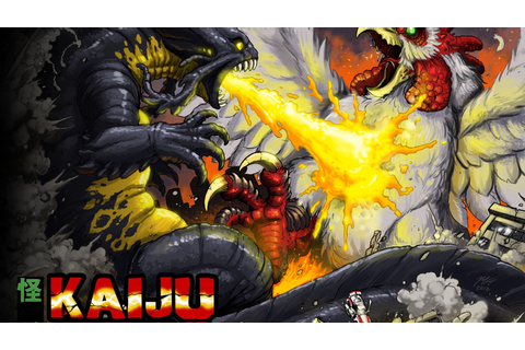 The Fall of Nemesis: Clash of the Kaijujin by Sunstone ...