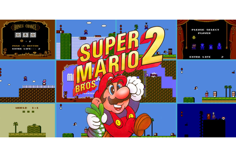 Super Mario Bros. 2 | NES | Games | Nintendo
