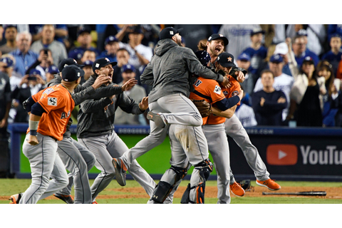 Astros win first World Series championship in franchise ...