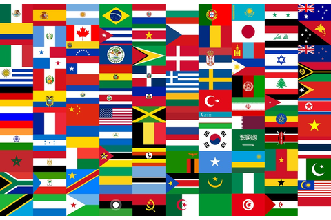 Flags quiz games - guess the country or U.S. state!