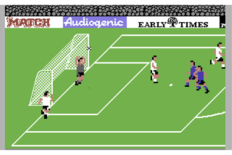 Emlyn Hughes International Soccer - Commodore 64 Game ...