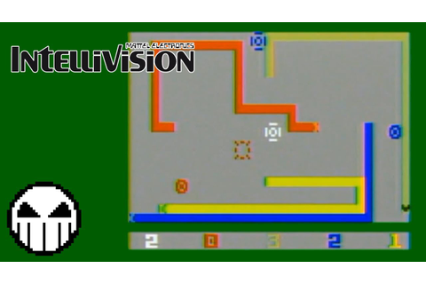 Quick Clips - Intellivision - 014 - Snafu - YouTube