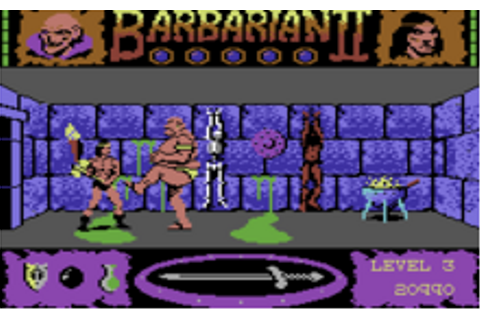 Barbarian II: The Dungeon of Drax - Wikipedia