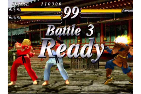Street Fighter EX 3 (PlayStation 2) Original Mode as Ryu ...