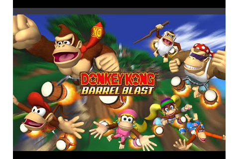 Donkey Kong: Jet Race - DK Jungle (Free Race) - YouTube