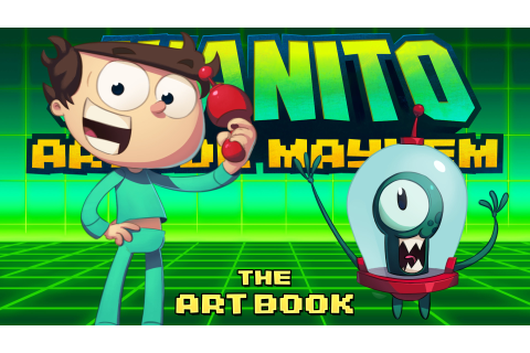 Juanito Arcade Mayhem - Artbook on Steam