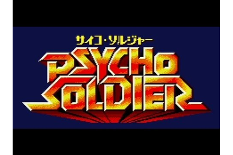 SNK Classic Game Psycho Soldier on PS3 in HD 720p - YouTube