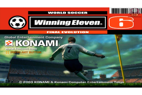 Winning Eleven 6 - Final Evolution gamecube games Dolphin ...