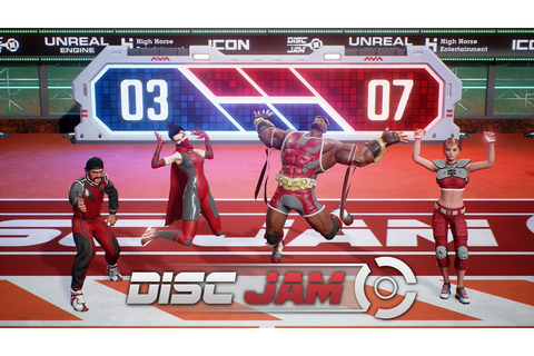 Disc Jam Launches for PC and PS4 March 7, 2017; Will Be ...