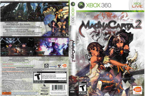 Mega Covers Gtba: Magna Carta 2 CUSTOM - Cover Game XBox 360
