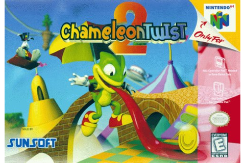 Chameleon Twist II for N64 (From $7.95) - Walkthroughs ...