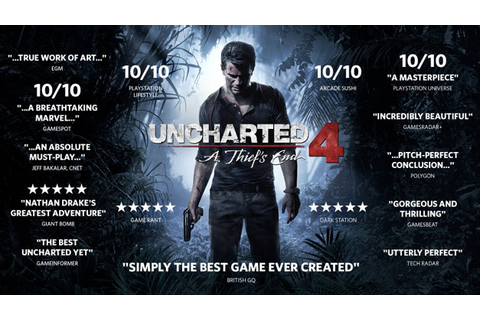 Uncharted 4: A Thief's End Game | PS4 - PlayStation