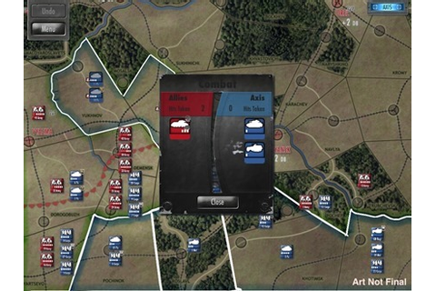 Drive on Moscow iPad Wargame: Sneak Peek at Early Game Art ...