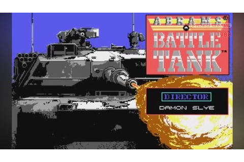 Abrams Battle Tank (PC, 1988) - Video Game Years History ...