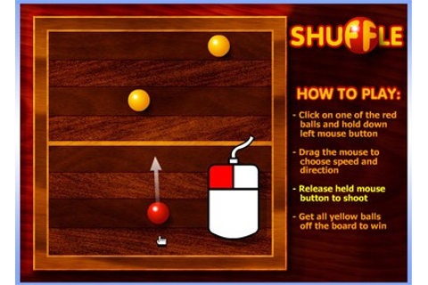 Play Shuffle Game Online: It's Like Shuffleboard On A Pool ...