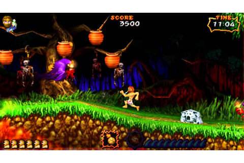 Ultimate Ghosts 'n Goblins on Jpcsp 0.6 - PSP Emulator ...