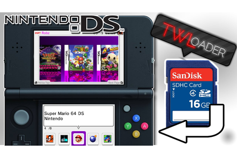 HOW TO PLAY DS GAMES ON 3DS OFF AN SD CARD! | TWLoader ...