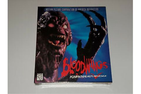 Bloodwings Pumpkinhead's Revenge (PC, DOS, 1995), SEALED ...