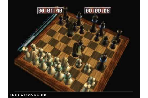 Virtual Chess 64 (Nintendo 64) - YouTube