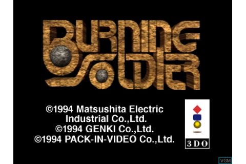 Burning Soldier for 3DO - The Video Games Museum