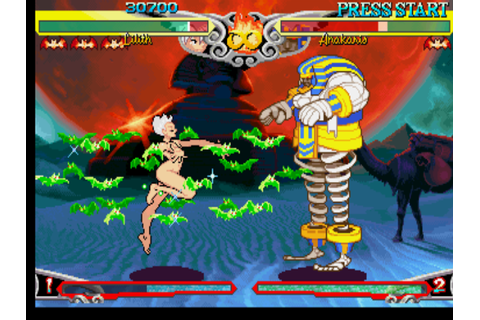 Darkstalkers 3 Screenshots for PlayStation - MobyGames