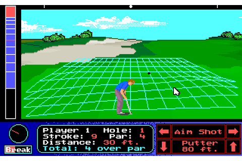 Jack Nicklaus' Unlimited Golf & Course Design (1990 - DOS ...