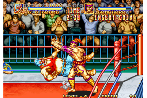 3 Count Bout / Fire Suplex - Arcade - Games Database
