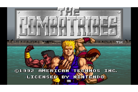 Random SNES - The Combatribes - YouTube