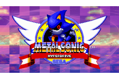 Metal Sonic Hyperdrive - Walkthrough - YouTube