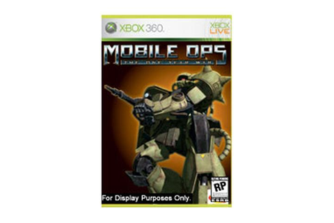 Mobile Ops: The One Year War Xbox 360 Game - Newegg.com
