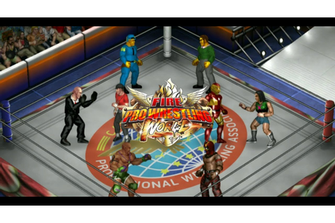 This Game Is AMAZING!!! | Fire Pro Wrestling World ...
