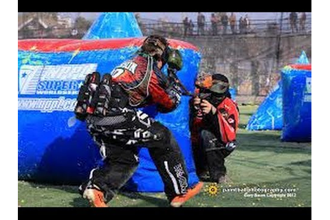 NPPL championship paintball - YouTube