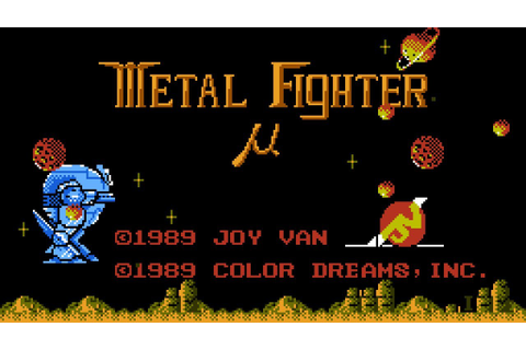 Metal Fighter - NES Gameplay - YouTube