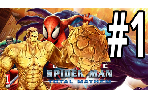 Ultimate Spider-Man: Total Mayhem | iPhone | Gameplay ...