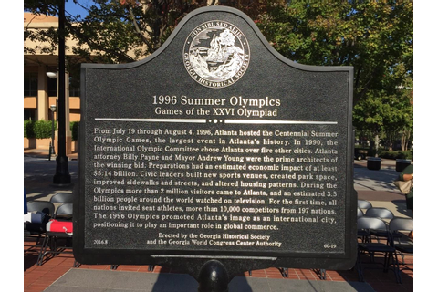 Marker Monday: 1996 Summer Olympics: Games of the XXVI ...
