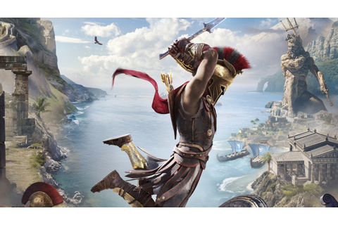 Assassins Creed Odyssey PS4 Pro E3 2018, HD Games, 4k ...