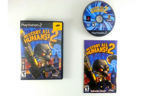 Destroy All Humans 2 game for Playstation 2 (Complete ...