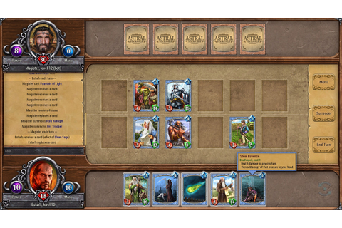 Astral Heroes: strategy card game. Official site.