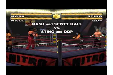 WCW Nitro Playstation Psx - YouTube