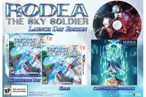 Rodea: The Sky Soldier launch delayed