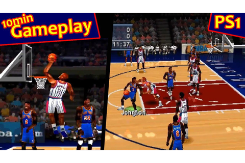 NBA ShootOut 2000 ... (PS1) - YouTube