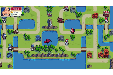 Wargroove makes it easy to make your own Fire Emblem- or ...