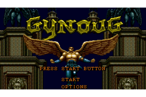 MegaDrive Longplay #11: Gynoug - YouTube