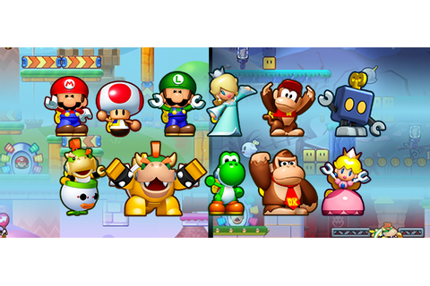 Mini Mario and Friends: amiibo Challenge Announced - Mario ...