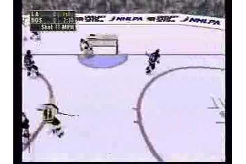 NHL Face Off 98 Playstation - Gameplay footage part 1 of 2 ...