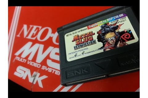 Classic Game Room - METAL SLUG 1ST MISSION review for Neo ...