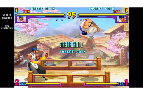 Street Fighter III New Generation / arcade attract mode ...