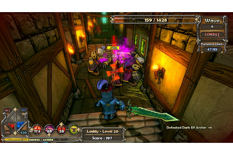 Save 75% on Dungeon Defenders on Steam